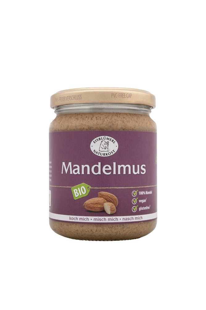 Bio Mandelmus - 250g im Glas