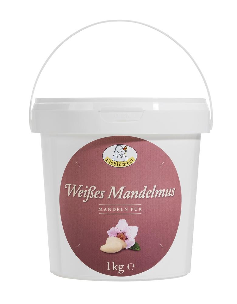 Bio Weißes Mandelmus - 1,0Kg im Eimerchen