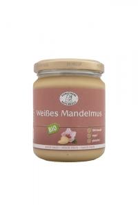 Bio Weißes Mandelmus - 250g im Glas