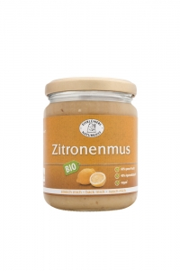 Bio Zitronenmus Koch- und Backzutat - 280g im Glas