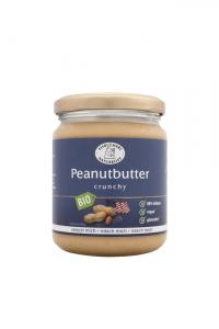 Bio Peanutbutter Crunchy - 250g im Glas