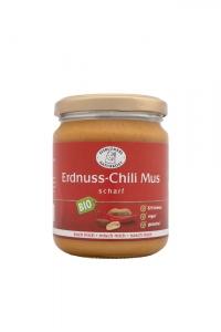 Bio Erdnuss-Chili-Mus - 250g im Glas