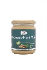 Bio Erdnuss-Hanf-Mus - 250g im Glas